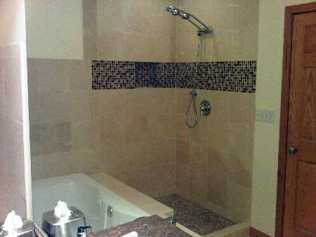 Wilmette shower and bathroom remodeling project
